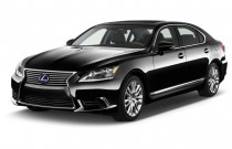 2016 Lexus LS 600h L 4-door Sedan Hybrid Angular Front Exterior View
