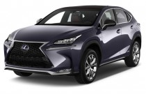 2016 Lexus NX 300h AWD 4-door Angular Front Exterior View