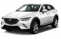 2016 Mazda CX-3 FWD 4-door Grand Touring Angular Front Exterior View