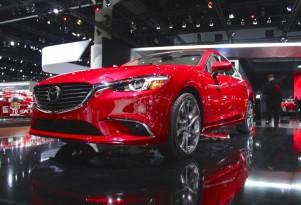 2016 Mazda Mazda6  -  Los Angeles Auto Show live photos