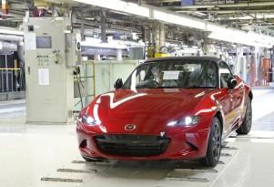 2016 Mazda MX-5 Miata production in Hiroshima, Japan
