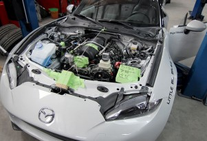 2016 Mazda MX-5 Miata V-8 conversion