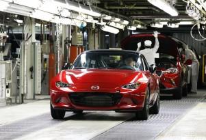 2016 Mazda MX-5 production for U.S. begins