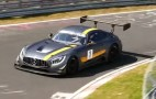 2016 Mercedes-AMG GT3 hits the Nürburgring
