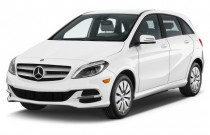2016 Mercedes-Benz B-Class 4-door HB Electric Drive Angular Front Exterior View