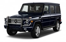 2016 Mercedes-Benz G Class 4MATIC 4-door G550 Angular Front Exterior View