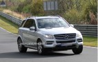2016 Mercedes-Benz GLS Class Coupe Crossover Spy Shots