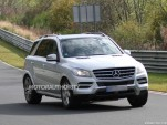2016 Mercedes-Benz GLS Class test mule spy shots