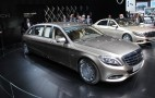 Mercedes-Maybach Pullman debuts at the 2015 Geneva Motor Show