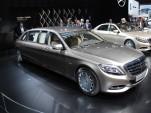 2016 Mercedes-Maybach S600 Pullman, 2015 Geneva Motor Show