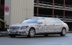 2016 Mercedes-Maybach S600 Pullman Spy Shots (With Interior)
