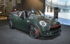 2016 Mini John Cooper Works Convertible debuts in New York: Live photos