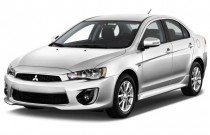 2016 Mitsubishi Lancer 4-door Sedan CVT ES FWD Angular Front Exterior View