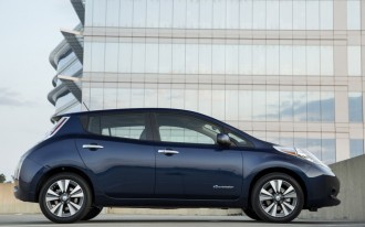 2016 Nissan Leaf Electric Car Now Rated At 107 Miles On A Charge