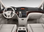 2016 Nissan Quest 4-door S Dashboard
