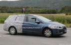 2016 Opel Astra Sports Tourer Spy Shots