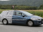 2016 Opel Astra Sports Tourer (wagon) spy shots - Image via S. Baldauf/SB-Medien