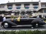 2016 Pebble Beach Concours d'Elegance Best in Show winner, 1936 Lancia Astura Pinin Farina Cabriolet