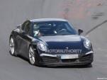 2016 Porsche 911 Carrera facelift spy shots - Image via S. Baldauf/SB-Medien