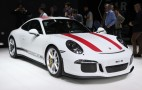 2016 Porsche 911 R debuts at Geneva Motor Show: Live photos and video