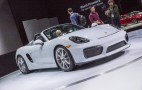 2016 Porsche Boxster Spyder Offers 375-Horsepower, Top-Down Fun: Live Photos