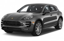 2016 Porsche Macan AWD 4-door Turbo Angular Front Exterior View