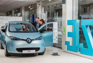 European electric and plug-in hybrid sales for Jan-Nov 2016