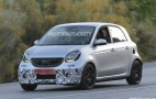 2016 Smart ForFour Brabus Spy Shots
