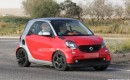 2016 Smart ForTwo Brabus spy shots