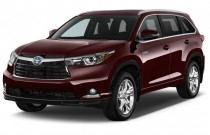 2016 Toyota Highlander Hybrid 4WD 4-door Limited (Natl) Angular Front Exterior View