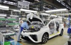 Low-Volume Assembly Line For Toyota Mirai Hydrogen Fuel-Cell Car