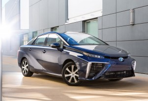 2016 Toyota Mirai Name For Fuel-Cell Sedan; Hydrogen Station Funds Coming For Northeast (Video)