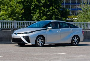Toyota Mirai seeks to reclaim green image from Tesla, sans Supercharger network
