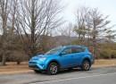 2016 Toyota RAV4 Hybrid, Catskill Mountains, NY, Feb 2016