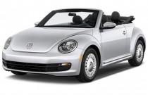 2016 Volkswagen Beetle Convertible 2-door DSG 2.0T R-Line S Angular Front Exterior View