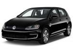 2016 Volkswagen e-Golf 4-door HB SEL Premium Angular Front Exterior View