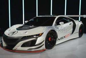 2017 Acura NSX GT3 race car, 2016 New York Auto Show
