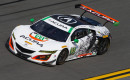 2017 Acura NSX GT3 race car competes in WeatherTech SportsCar Championship