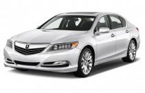 2017 Acura RLX Sedan w/Technology Pkg Angular Front Exterior View