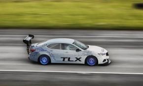 2017 Acura TLX A-Spec race car set for 2017 Pikes Peak International Hill Climb
