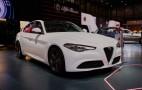 2017 Alfa Romeo Giulia's regular trim levels revealed in Geneva: Live photos