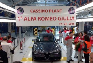 Alfa Romeo Giulia job one