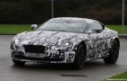 2017 Aston Martin DB11 Spy Shots (With Interior)