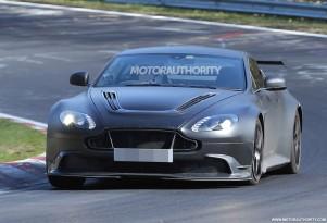 2017 Aston Martin Vantage GT8 spy shots - Image via S. Baldauf/SB-Medien