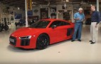 Jay Leno Drives The 2017 Audi R8: Video
