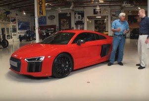 2017 Audi R8 at Jay Leno's Garage