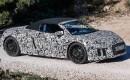 2017 Audi R8 Spyder spy shots - Image via S. Baldauf/SB-Medien