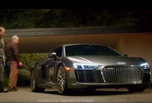 2017 Audi R8 Super Bowl 50 spot
