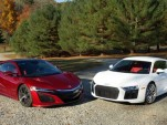 Acura NSX vs. Audi R8: We compare tech versus higher tech