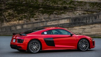 2017 Audi R8, Asheville to Daytona